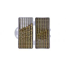 Набор сверл №57 Стандартный, (3-8), 12 шт. (5% кобальт)