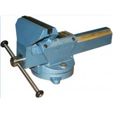 Тиски слесарные ТСМ-160 поворотные сталь (Глазов)